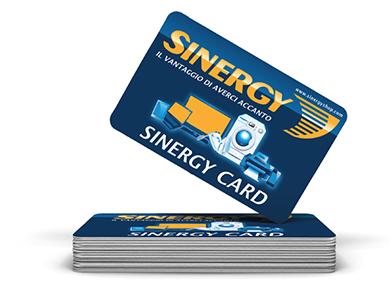 Sinergy CARD - Bigliettini da visita